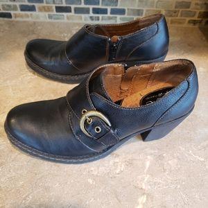 B.O.C. Catori black heeled shootie